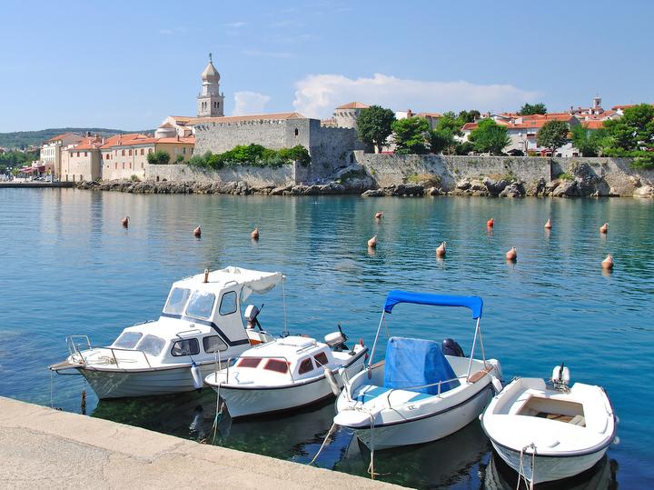 Krk capoluogo dell'isola